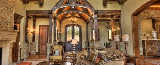 15 Stunning Tuscan Living Room Designs