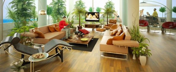 20 Refreshing Wooden Floor Tile Designs