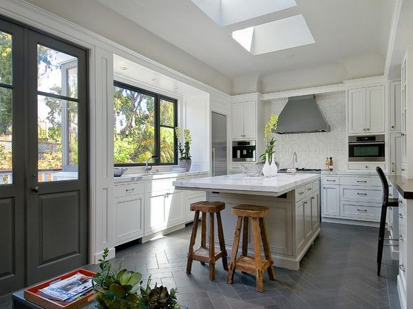 15 different kitchen flooring designs | home design lover