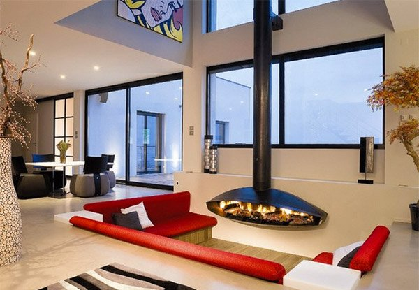 SpaceSaving And Pretty Sunken Living Rooms Home Design Lover - Sunken living room