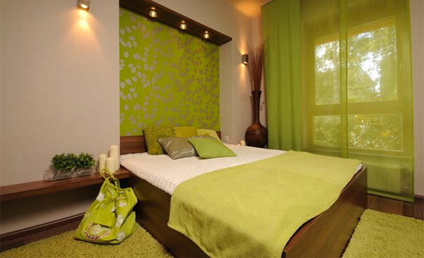 Art Deco Contemporary Bedroom