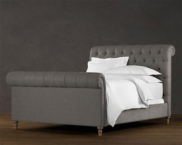 15 Lovely Sleigh Bed Designs Home Design Lover