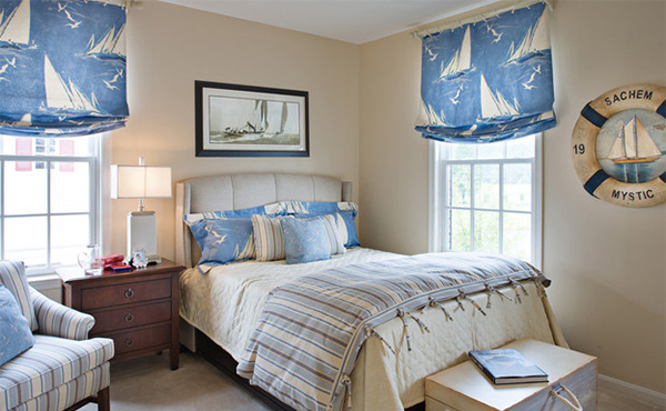 Sail on with 15 nautical themed bedrooms home design lover for Beautiful bedroom designs hd