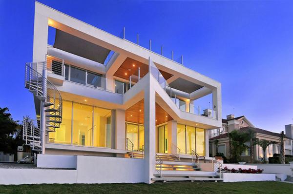 Picture frame house a vivid modern home design home for Modern a frame homes