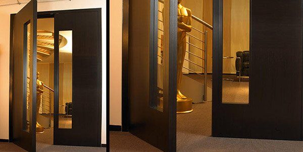 15 different interior double door design idea home for Double wood doors with glass