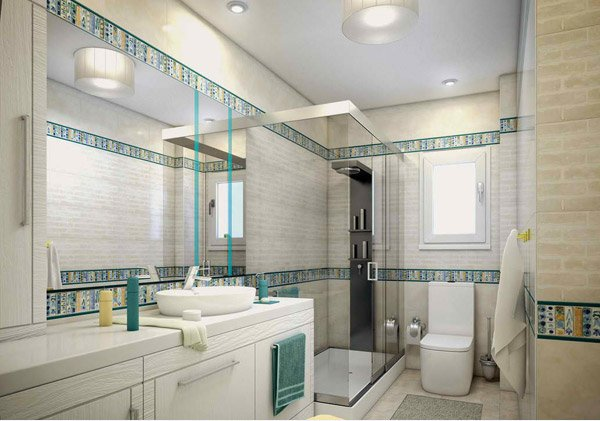 15 turquoise interior bathroom design ideas home design for Teen girl bathroom ideas
