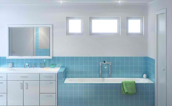 Mr. Clean Bathroom