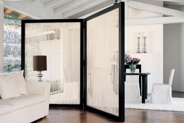 15 Beautiful Foyer Living Room Divider Ideas Home Design: contemporary room dividers ideas
