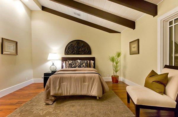 Vaulted Ceiling Lighting Living Room Exposed Beams