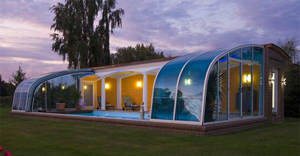 arc pool enclosure