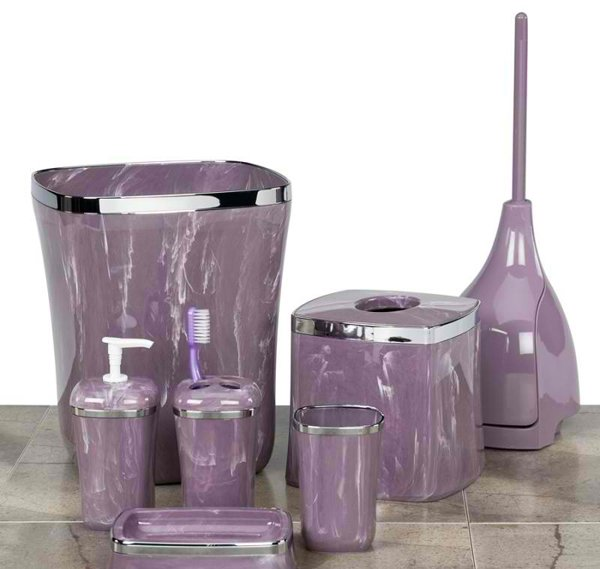 15 elegant purple bathroom accessories home design lover - Purple bathroom accessories uk ...