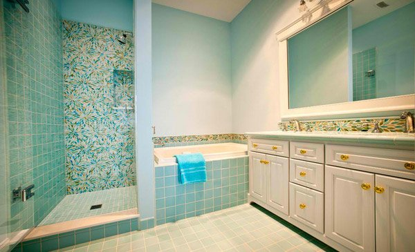 Bathroom Ideas Turquoise 15 turquoise interior bathroom design ideas | home design lover