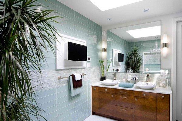 15 turquoise interior bathroom design ideas home design for Contemporary ensuite