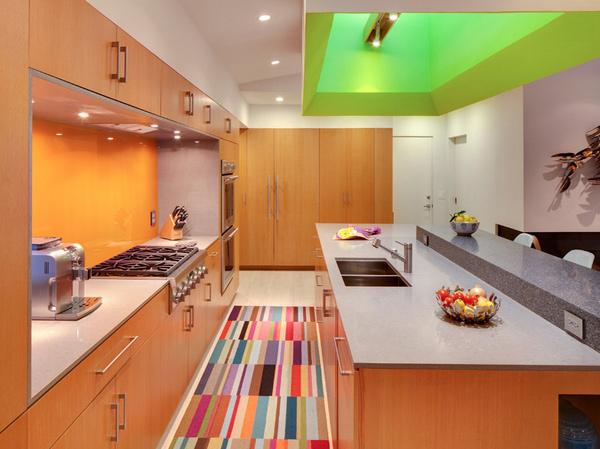 multi-colored rug