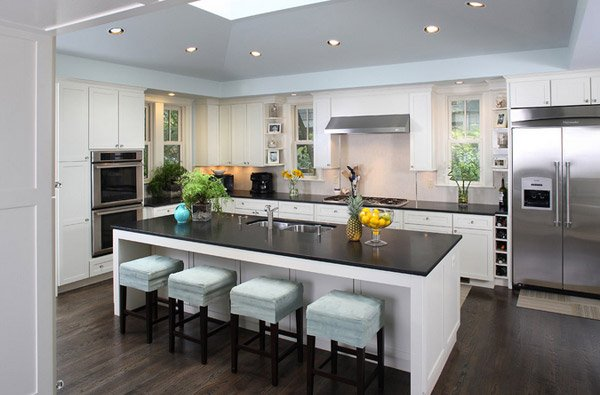 15 pretty kitchen island with seating home design lover for View kitchens ideas