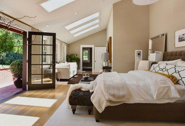 15 Charismatic Sloped Ceiling Bedrooms | Home Design Lover