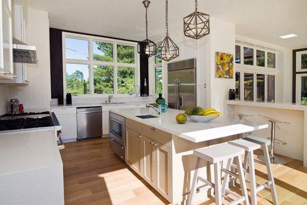 15 contemporary u-shaped kitchen designs | home design lover