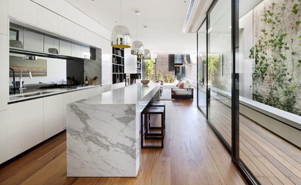 Nicholson House Kitchen Wall