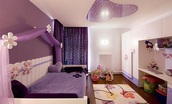 Kids Canopy Bed Room