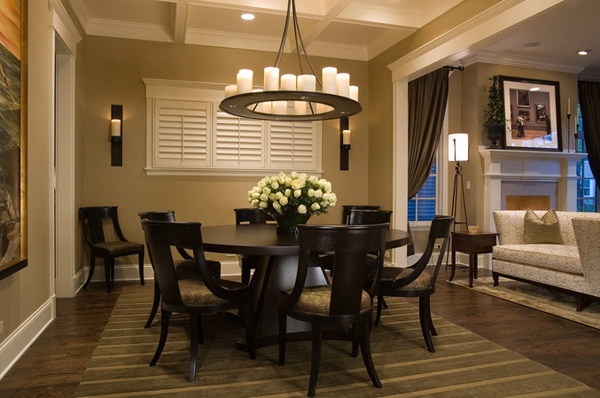 15 eye-catching black pedestal dining room tables | home design lover