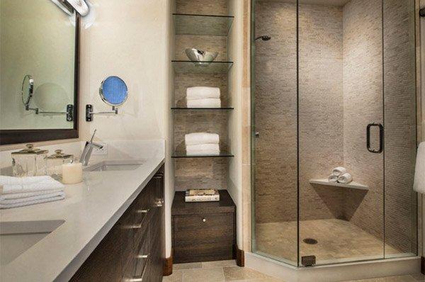 15 bathroom shelving design ideas | home design lover
