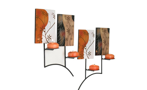 Iron Wall Mural Sconce