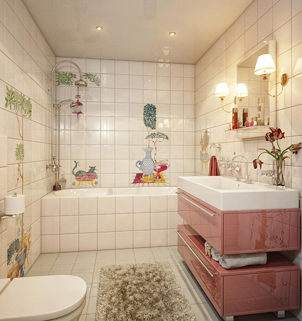 18 Colorful And Whimsical Kid S Bathroom Home Design Lover
