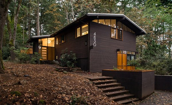 Mid-Century Remodel House New