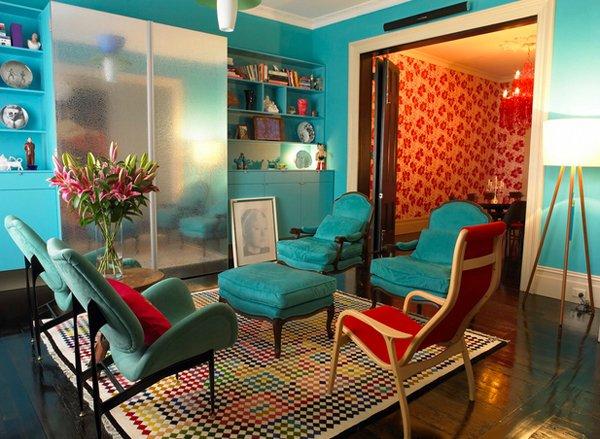 turquoise room ideas