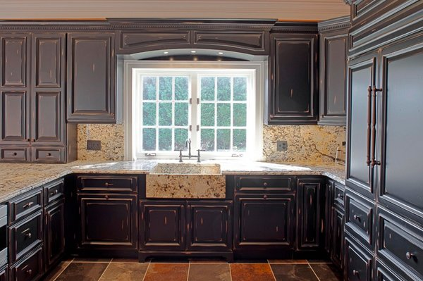 15 Perfectly Distressed Wood Kitchen Designs – Pictures of Distressed Kitchen Cabinets