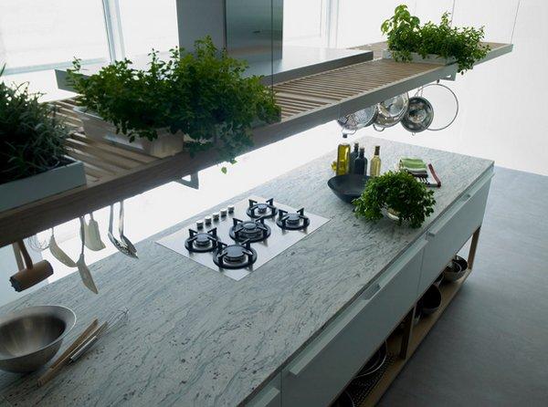 stove countertop
