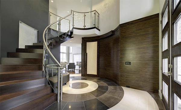 Modern House With Foyer : Contemporary foyer and entry way design ideas home