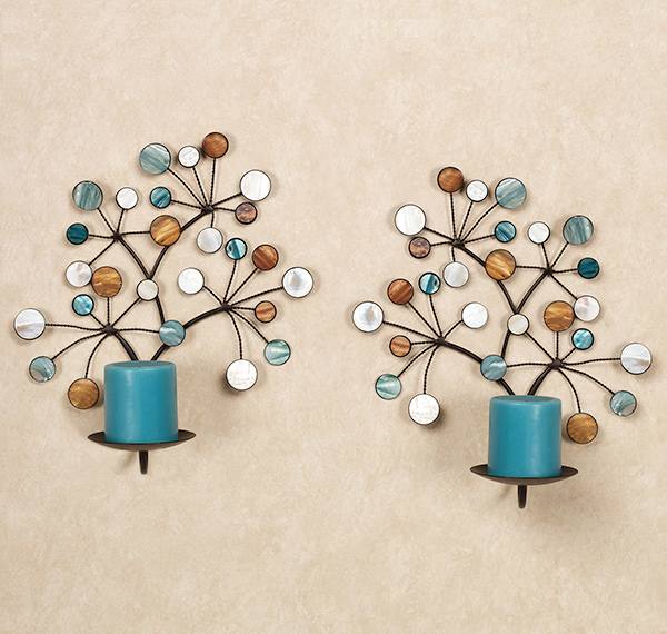 Wall Candle Decor 15 timeless wall sconce candle holders | home design lover