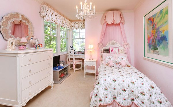 Bedrooms Canopy for girls