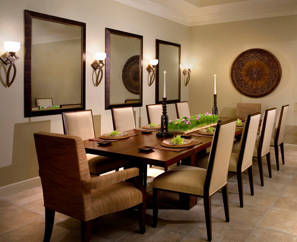 15 beautiful contemporary dining room sets home design lover for Beautiful modern dining rooms