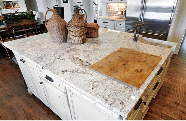 White Springs Granite Slab : Different granite kitchen countertops home design lover