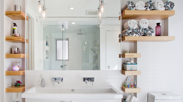 15 bathroom shelving design ideas | home design lover
