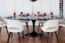 15 Eye-Catching Black Pedestal Dining Room Tables