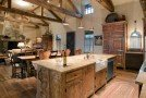 15 Perfectly Distressed Wood Kitchen Designs