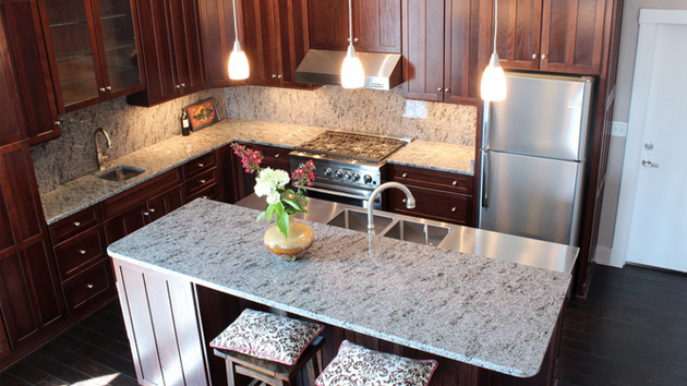 Different types different types of countertops for Types of kitchen counters