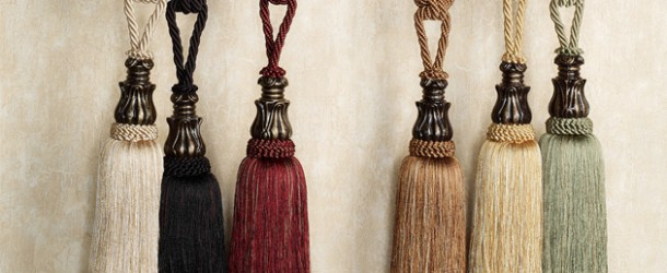 Accessorize Curtains With 15 Rope and Tassel Tiebacks