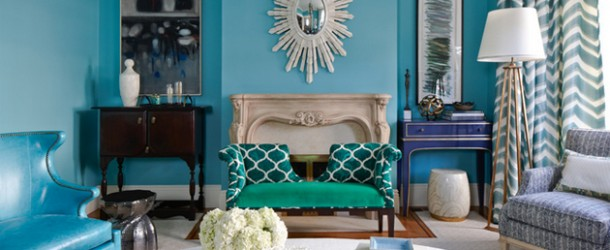 15 Scrumptious Turquoise Living Room Ideas