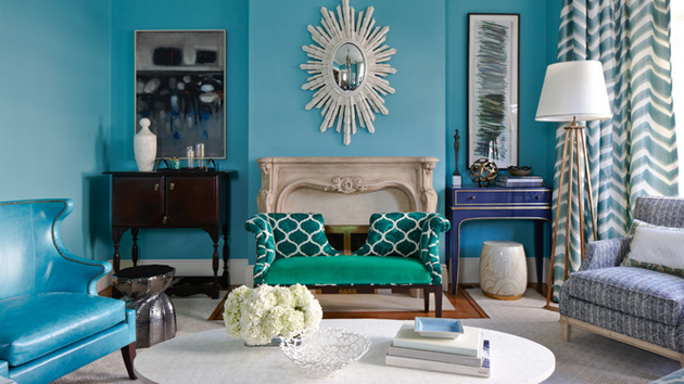 Collection turquoise and brown living room pictures best home design