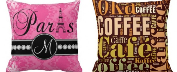 Words and Quotes on 15 Throw Pillow Designs