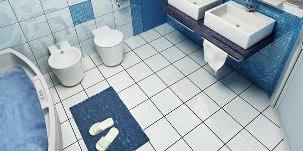 Use slip resistant mats