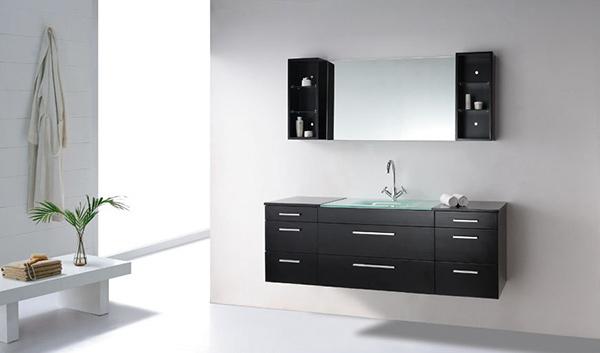 63 Inch Single Sink Bathroom Vanity Set
