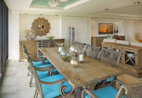 Vanderbilt Beach Renovation. 15 Beach Themed Dining Room Ideas   Home Design Lover