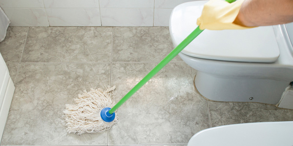 Avoid water accumulation on the floor