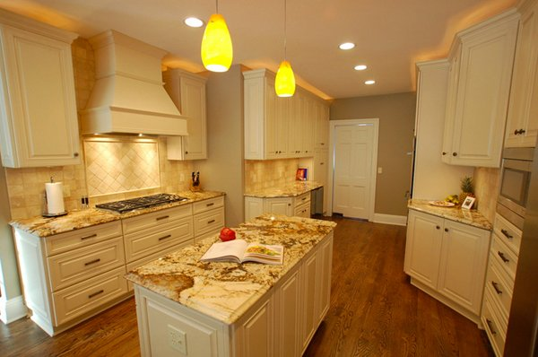 Dainty Cream Kitchen Cabinets Home Design Lover