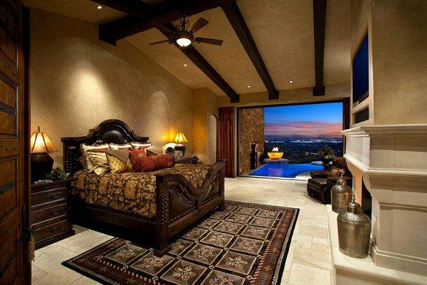 desert tuscan weaver interior designs